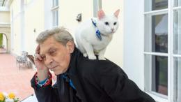 Alexander Nevzorov and Achilles the Cat